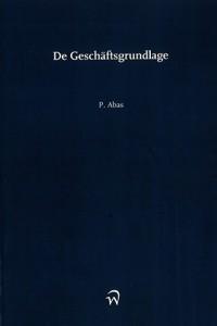 09-2015_boek_De_Geschaftsgrundlage